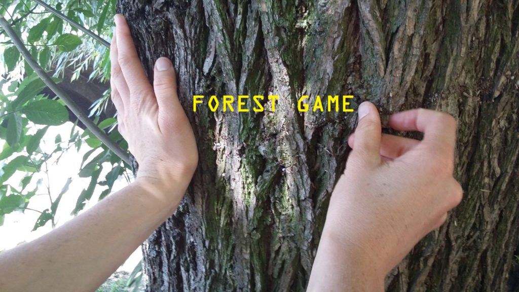 forest game peformance, festival escletxa art i Natura, Can Serrat, El Bruc